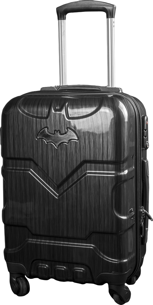 """Batman - Small 19"""" PC Hard Cover Carry On Luggage Trolley Suitcase by The  Australian Luggage Co. 8b7af611c20ae"""