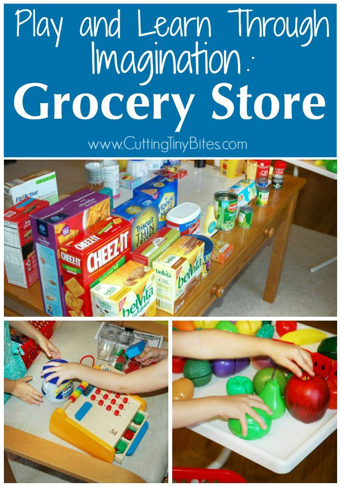 Play And Learn Through Imagination Grocery Store Dramatic Play Preschool Dramatic Play Themes Dramatic Play Activities