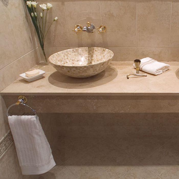 Ambiente ba o carla beige ambientes pinterest beige for Cuartos de bano beige