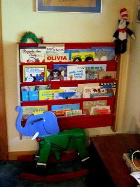 Canvas Pocket Book Shelf Bookshelves Diy Diy Bookshelf Kids