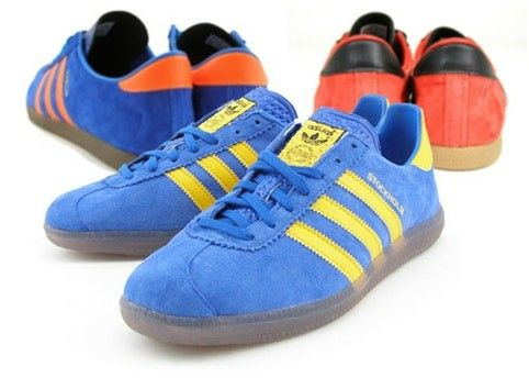 new product 2788c 24a77 Adidas Stockholm 2008 to the fore, with Dublin and London