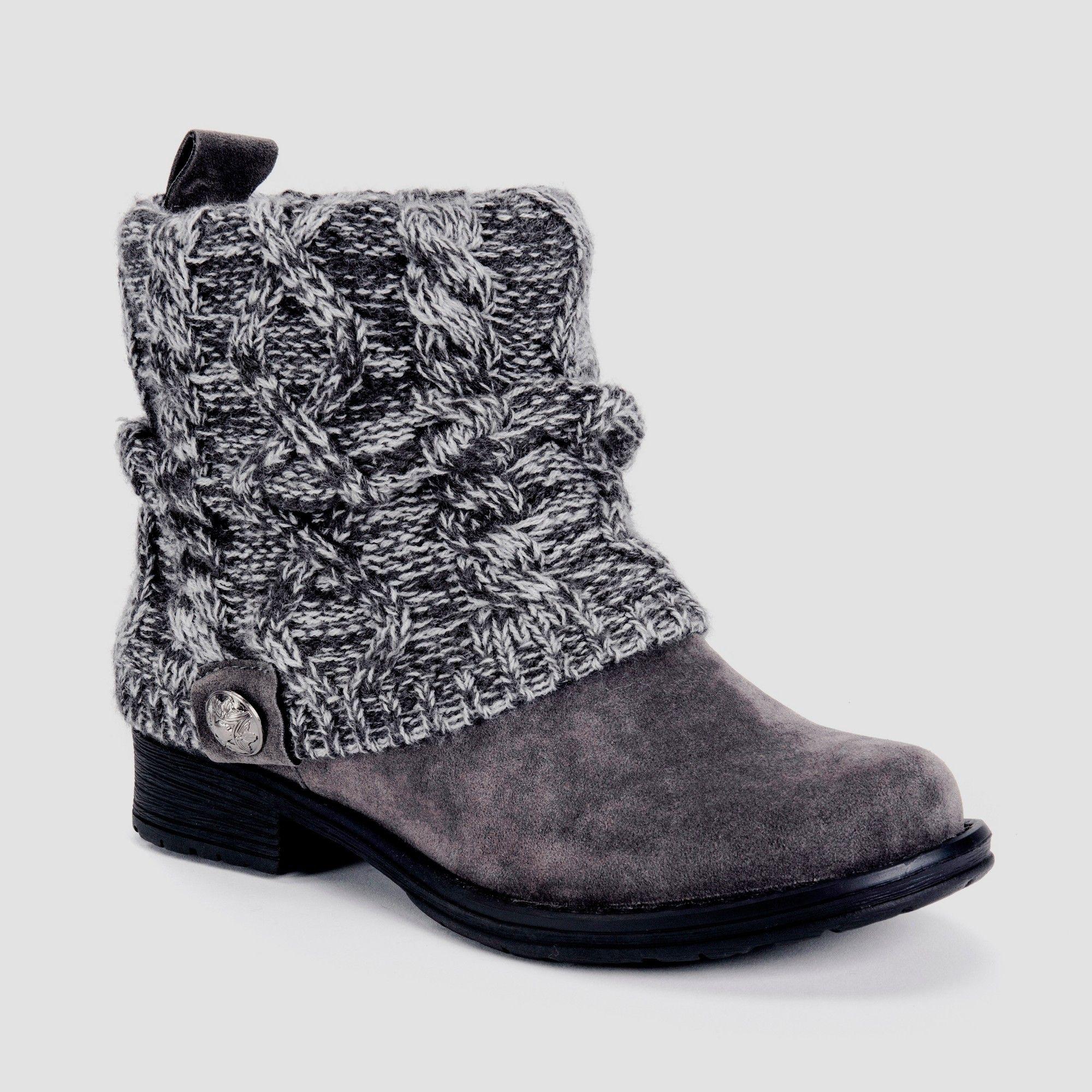 b64ce95cc3cb Women s Muk Luks Patrice Shearling Style Boots - Grey 10