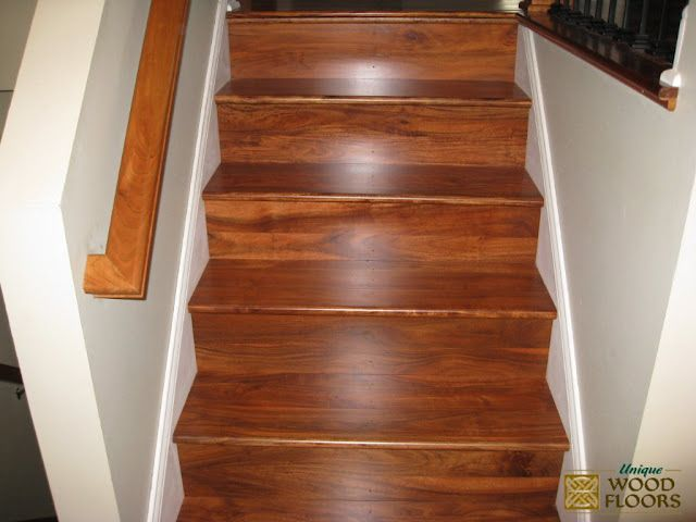 Good Asian Walnut Acacia Stair Works   Good Color But Donu0027t Like The Solid Back
