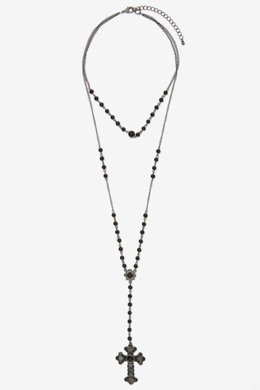 Sweet Jesus Rosary Necklace