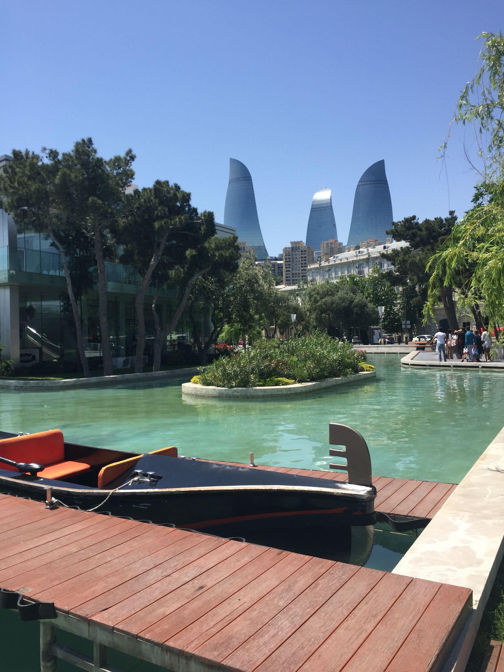 Kicik Venesiya Mini Venice Baku City Azerbaijan Travel Baku Azerbaijan