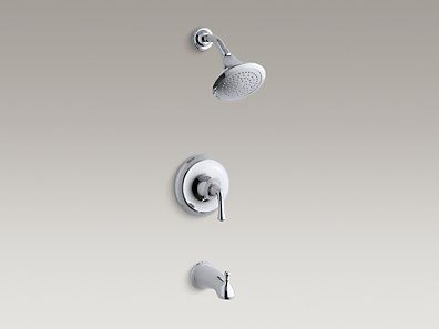 Kohler K T10275 4a Cp Fort 233 174 Traditional Rite Temp