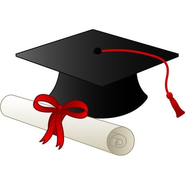 graduation cap and diploma free clip art liked on polyvore rh pinterest co uk  free high school graduation clip art