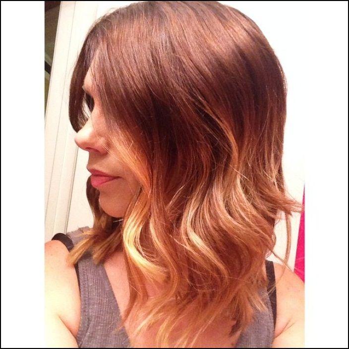 Medium Length Dark Red Hairstyles and very easy