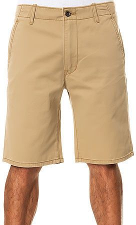 Levis The Chino Shorts In Harvest Gold