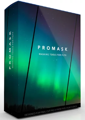 ProMask is a Masking Tools for FCPX (Final Cut Pro X) and