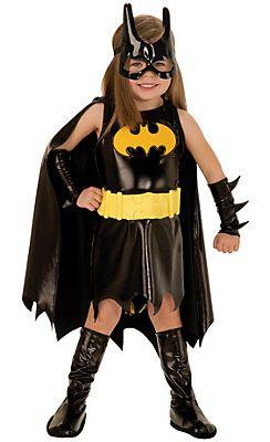 Toddler Girls Batgirl Costume Batman Kids Stuff Halloween