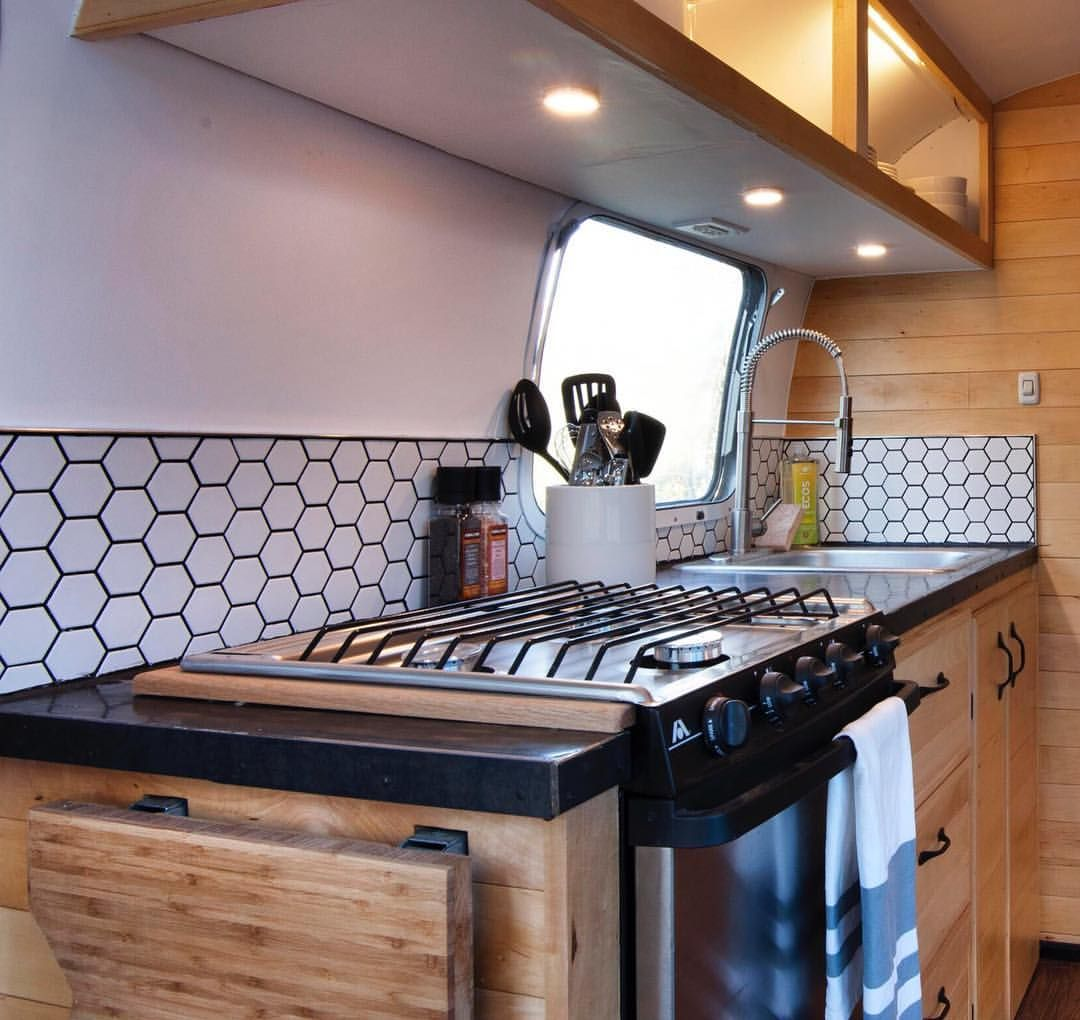Airstream renovation airstream kitchen inspiration