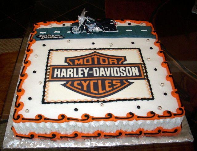 Strange Harley Davidson Birthday Cakes Harley Davidson Birthday Funny Birthday Cards Online Fluifree Goldxyz