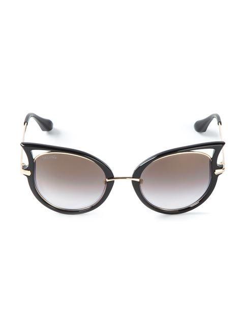 27d79eb3332 Dita Eyewear Stylised Cat Eye Sunglasses - Monocle - Farfetch.com ...