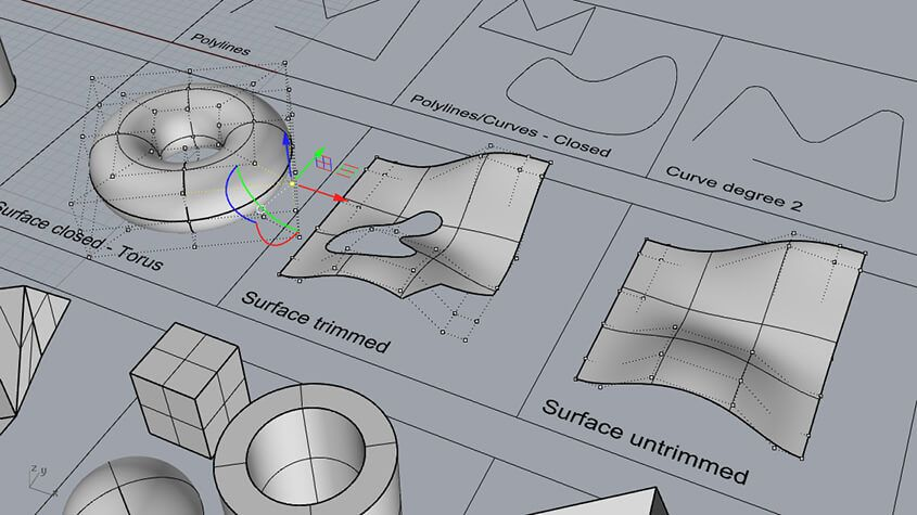 Learn the fundamentals of 3D modeling with Rhinoceros and