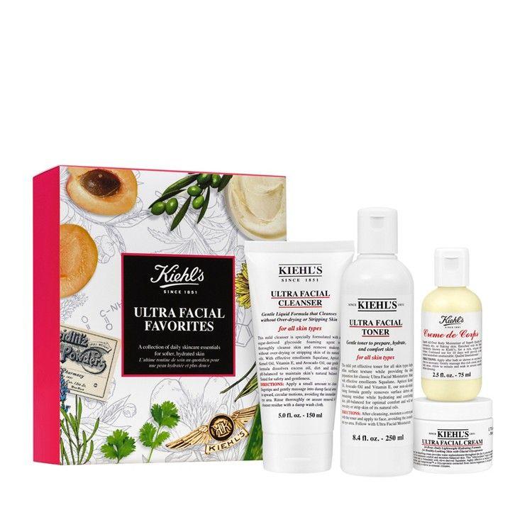 Kiehls ultra facial favourites skincare gift set