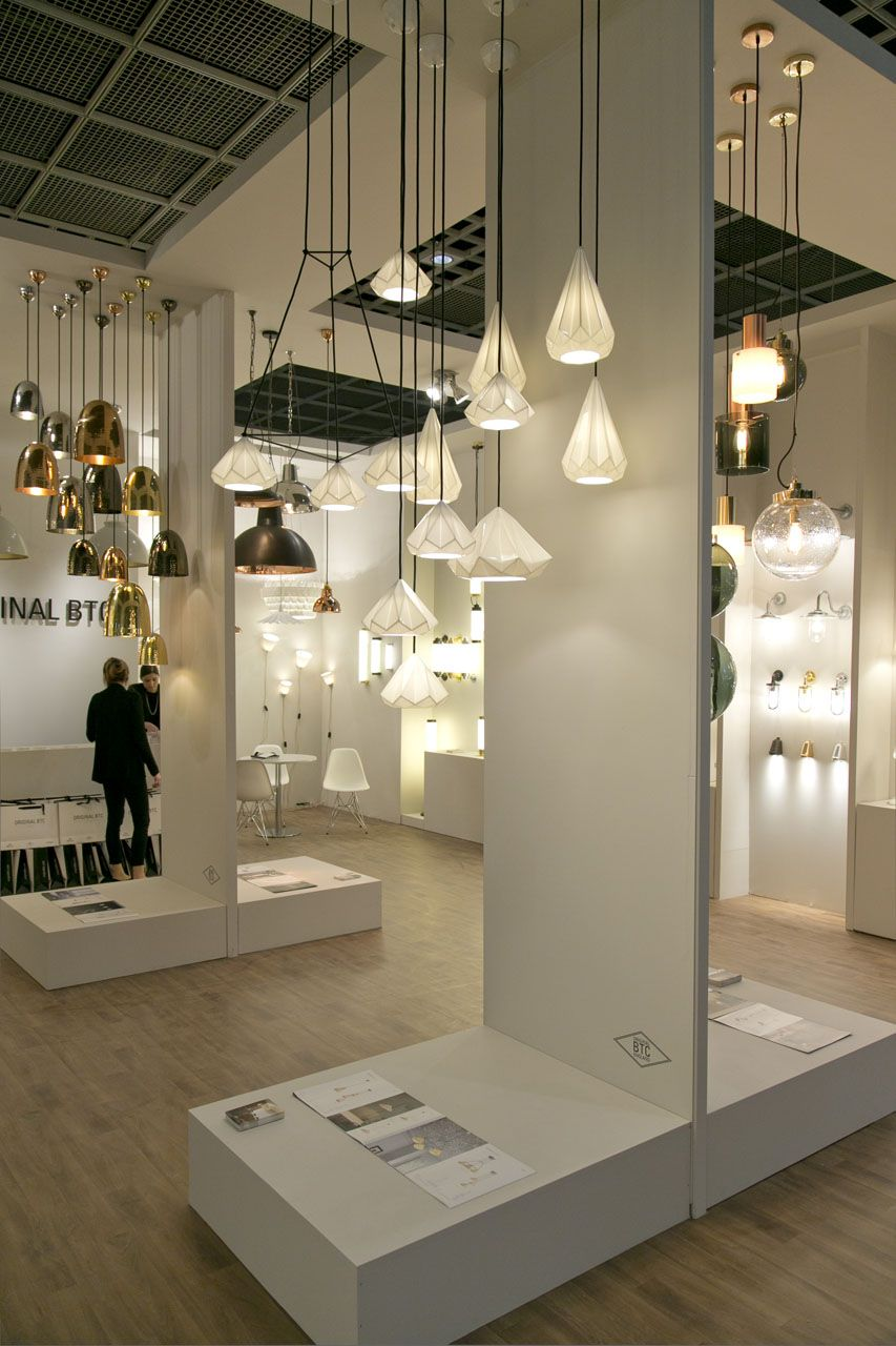 Light Building 2016 Showroom Interior Design Retail Lighting