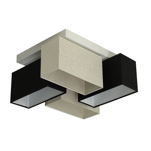 Photo of Brayden Studio ceiling lamp 4 heads Lorenzo | Wayfair.de