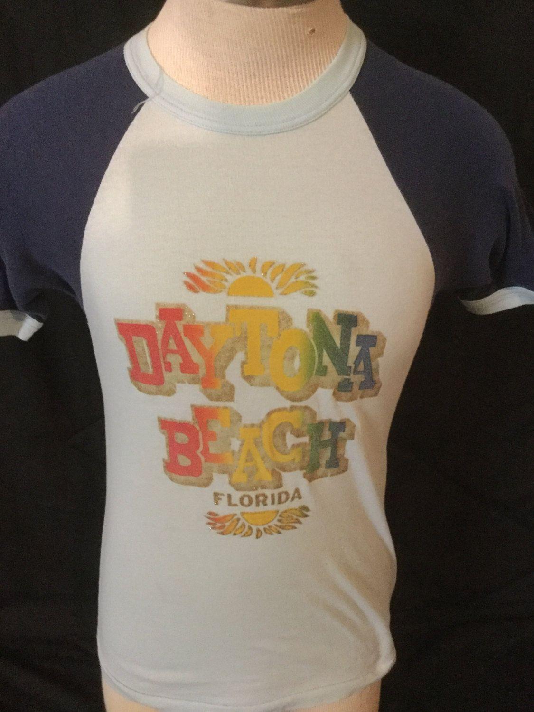 Vintage 1980 S Tourist T Shirt Surf Beach Daytona Florida 50 By 413productions On Etsy
