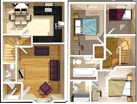 Floor Plan. David WilsonFloor Plans