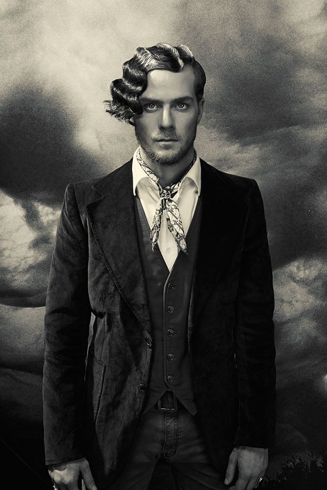 Vignette By Aiden Horwood: Renaissance And Baroque Inspired #Hair #beauty # Men #barber #barbering #hairstyles #style