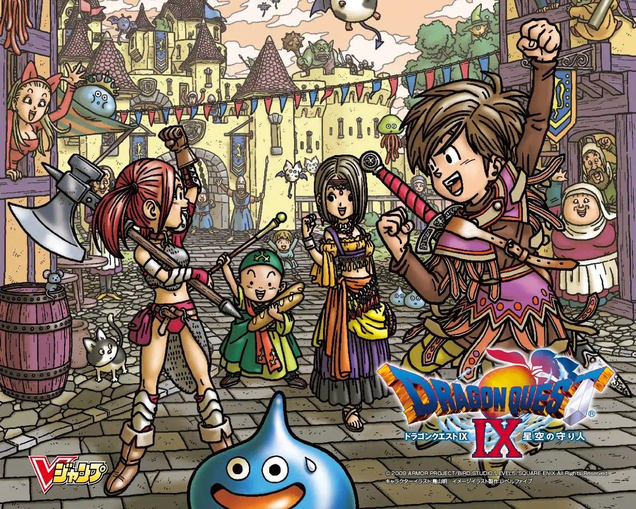 Dragon Quest 9 Wallpaper Dragonquest Dragon Quest Warriors Wallpaper Dragon Warrior