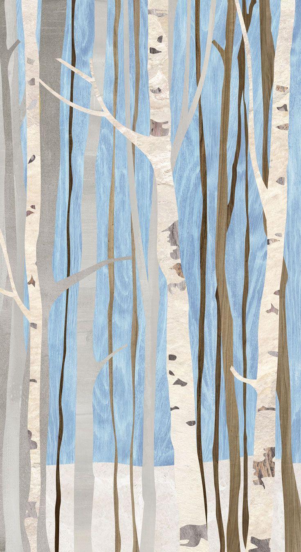 Carta Da Parati Ingresso carta da parati / wall paper: alberi infinity - acqua