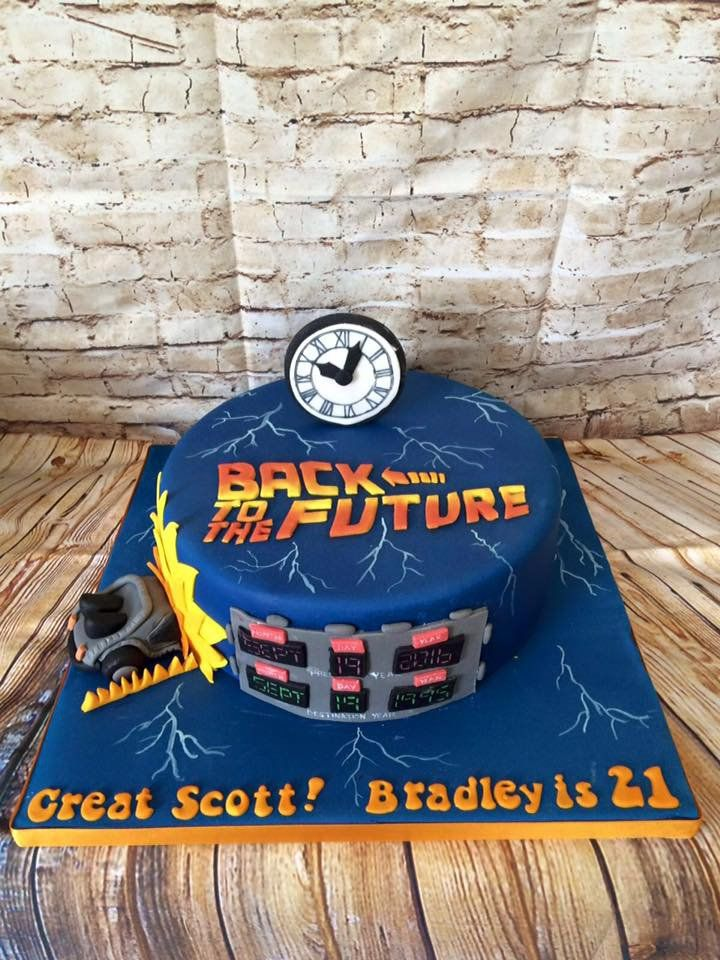 Image Result For Back To The Future Cake Cakes Back To