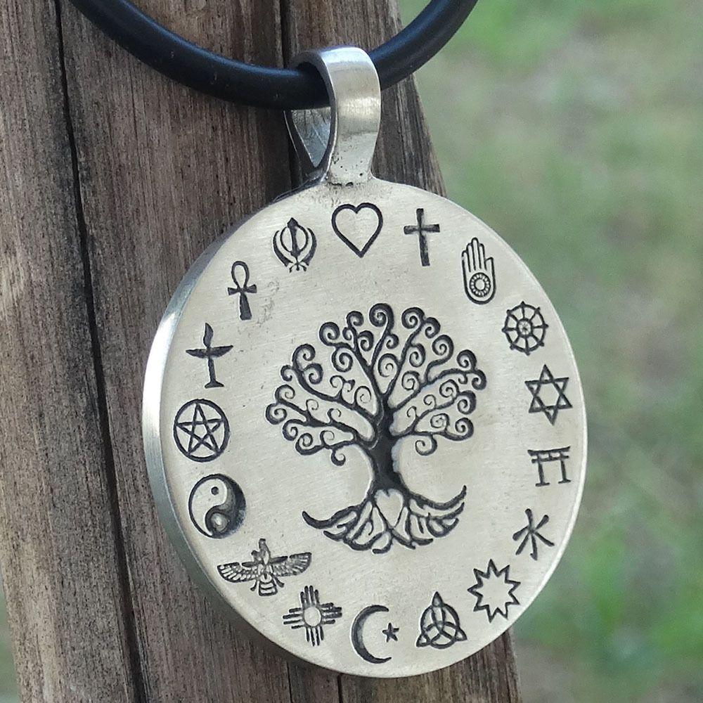 Coexist tree of life worlds religions pendant necklace detail coexist tree of life worlds religions pendant necklace detail engraved on metal aloadofball Gallery