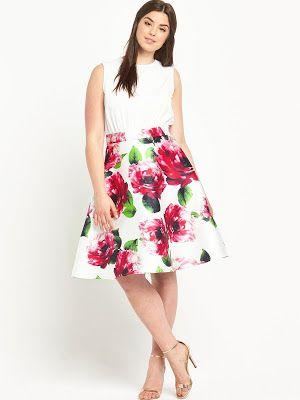 917a90fc7 vestidos para gordas | talla Plus | Vestidos para gorditas jovenes ...
