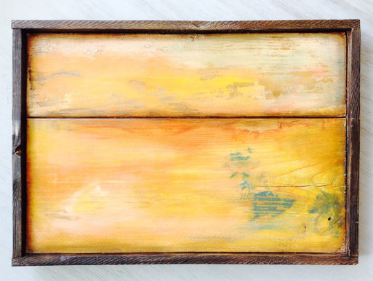 Distressed wood boards, reclaimed wood wall art, Solid wood ...