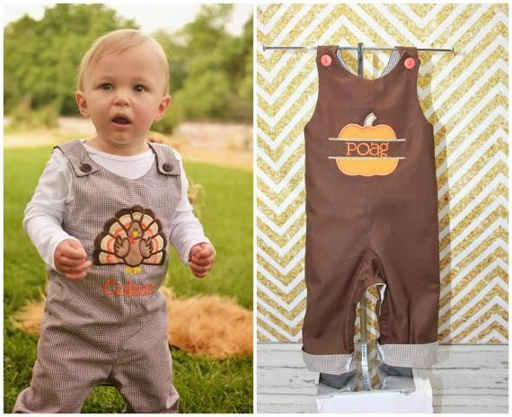 Boys Reversible Thanksgiving Jon Boys Turkey Pumpkin Jon Boys First Thanksgiving Clothes Boys First Thanksgiving Outfit Appliqued Embroidered Jon Jon Shortall L Thanksgiving Clothes Thanksgiving Outfit Boy Thanksgiving Outfit