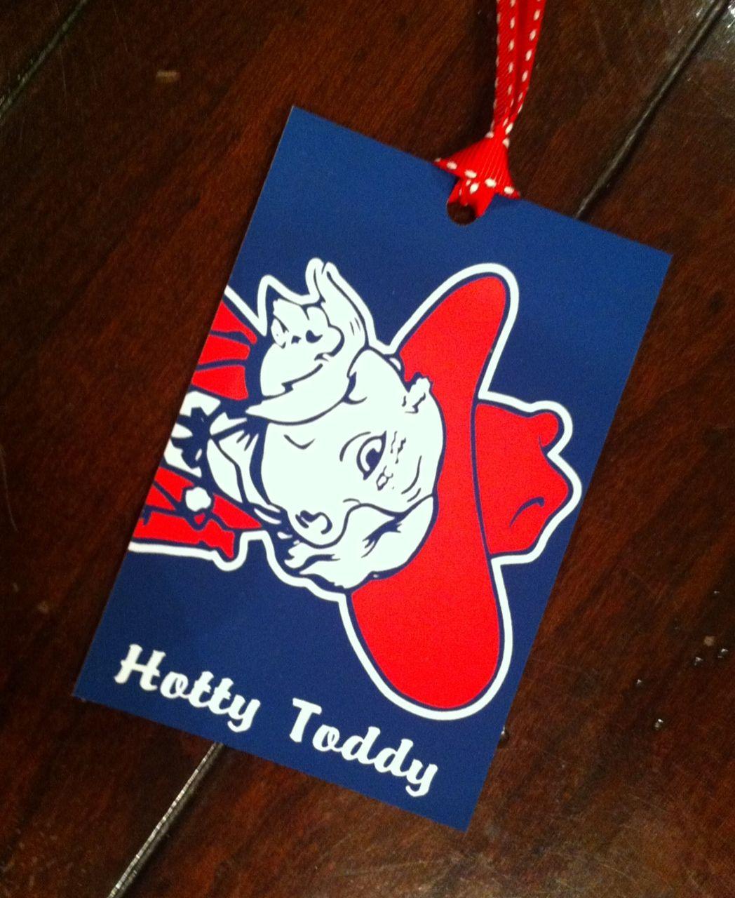 Ole Miss Team Gift Sticker Sheet