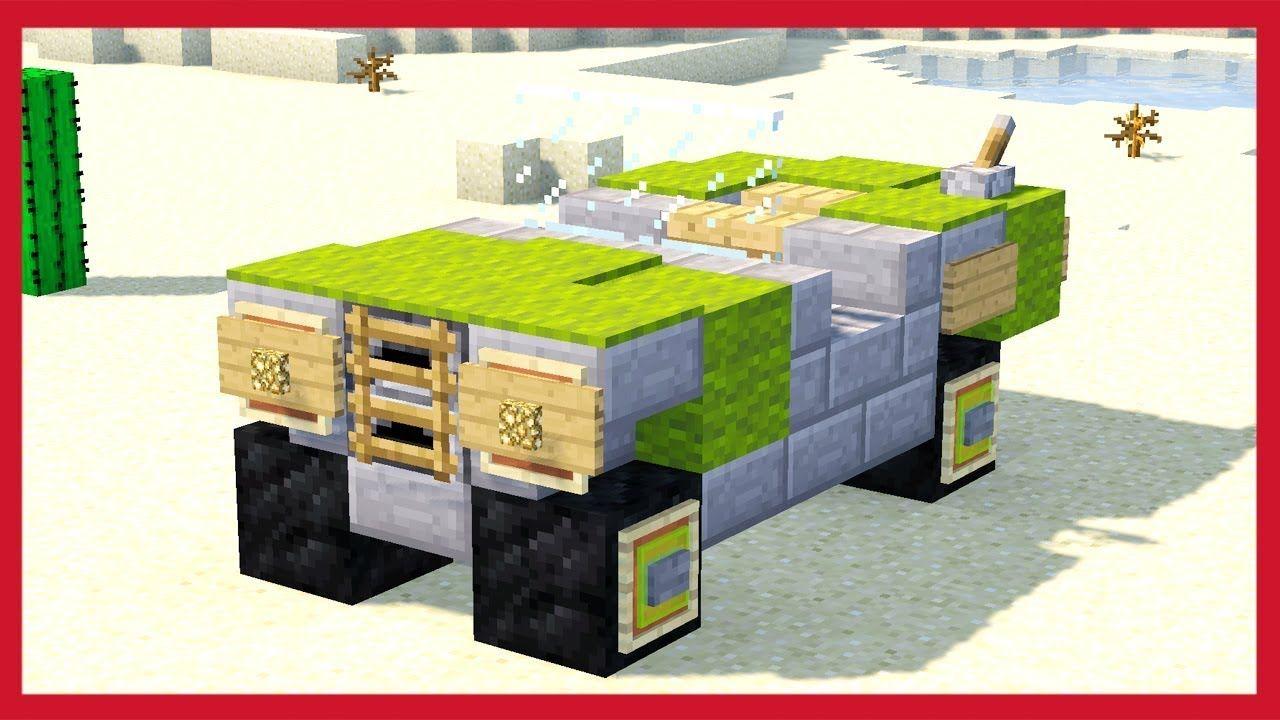 Camera Da Letto Minecraft minecraft: come fare una jeep dell' esercito | minecraft