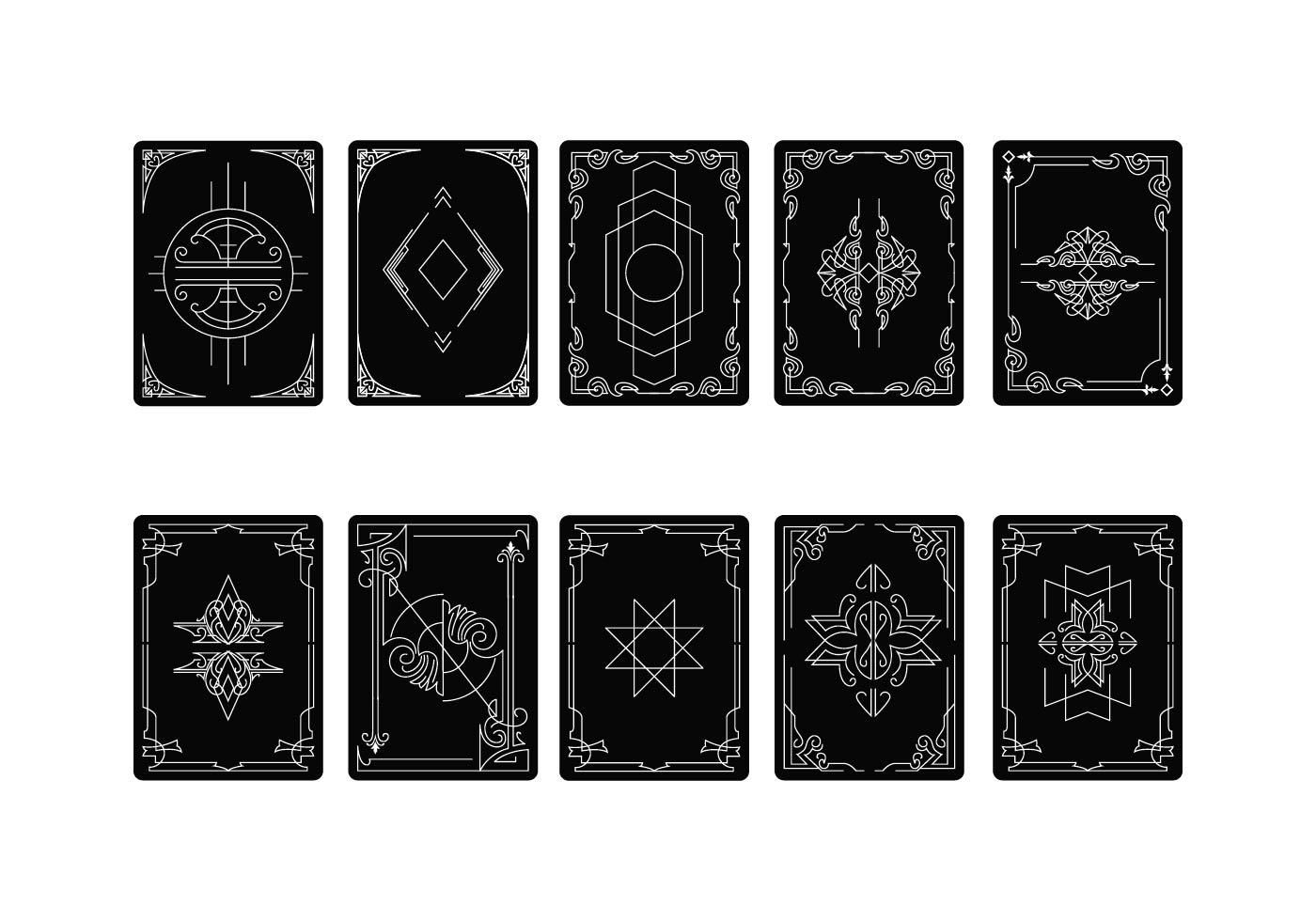 Free Download Free Tarot Card Back Vector Free Tarot Cards Vector Free Cards