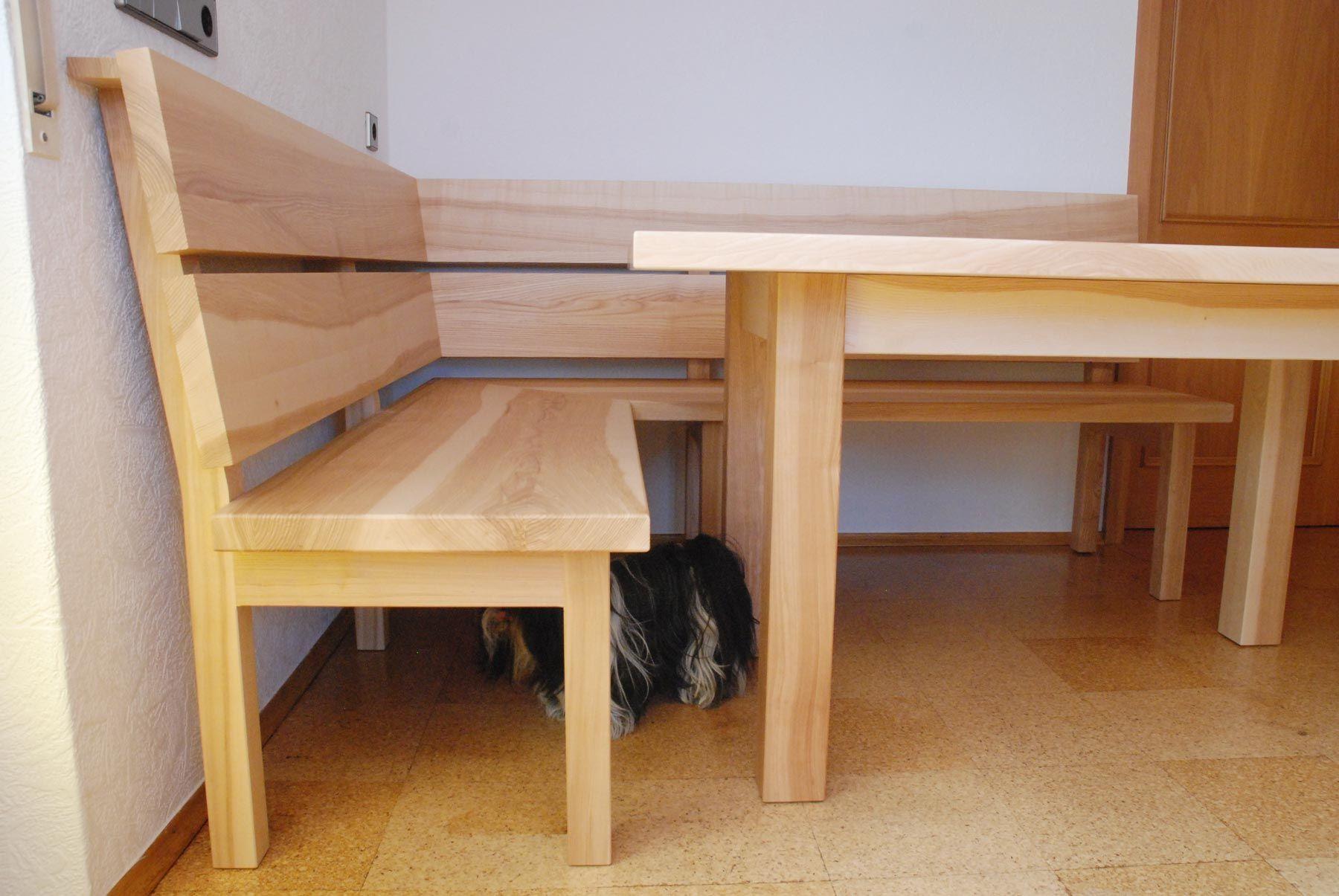 tisch und bank f r das esszimmer aus esche ideen rund ums haus in 2019 pinterest b nke. Black Bedroom Furniture Sets. Home Design Ideas