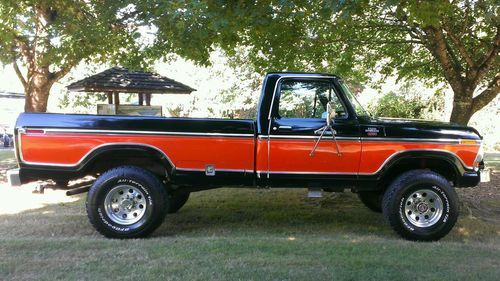 1978 Ford F250 4x4 59k original miles A/C, US $15,500.00, image 8