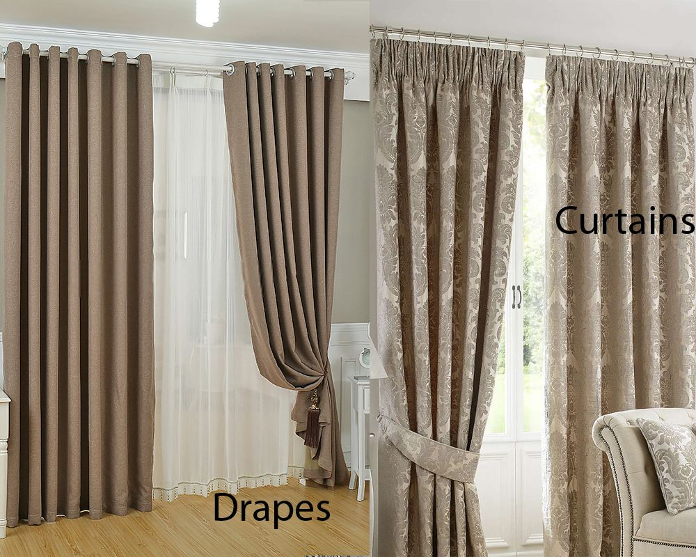 awesome Inspirational Drapes Vs Curtains 17 On Hme Designing ...
