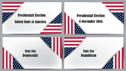 Presidential election United State of America