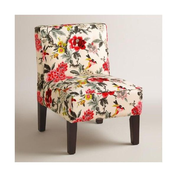 Cost Plus Furniture Sale: Cost Plus World Market Warm Tone Randen Upholstered Chair