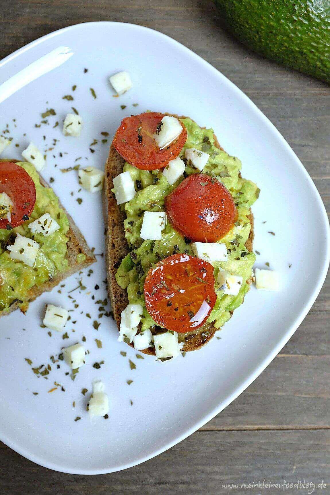 Avocado Bruschetta deluxe - Schnelle Rezepte aus meiner Küche -  Dieses Avocado Bruschetta schmeck