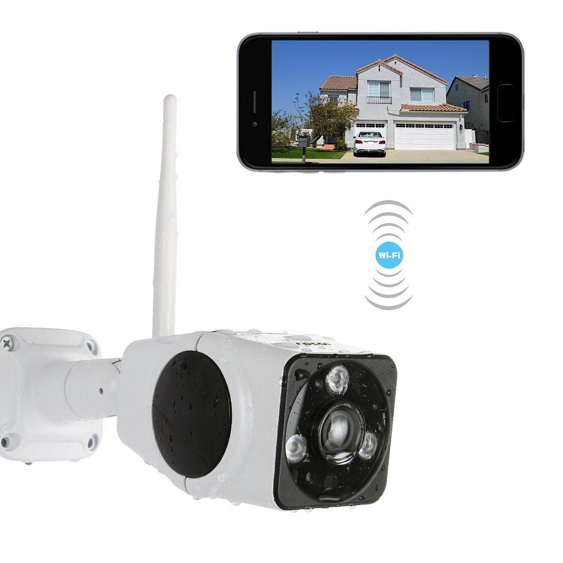 Fredi Cam Ra Sans Fil Ext Rieur Cam Ra De Surveillance 1080p Hd Ip