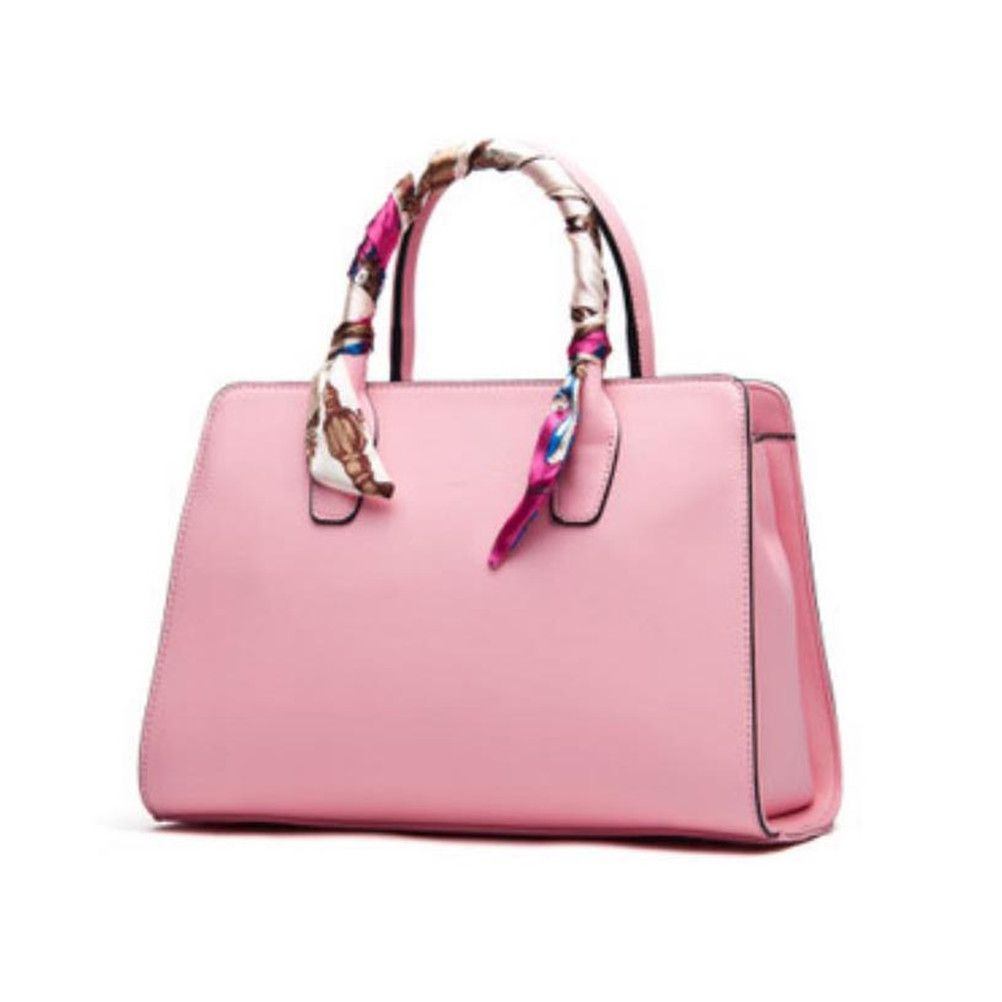 T Scarf Handbag Bag Handle Decor Bandeau Wrap Ribbon Silk Scarvies Diy A7