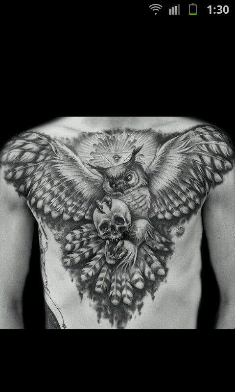 Amazing Tatto Tatuaje Buho Tatuajes Y Nuevos Tatuajes