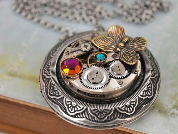 Steampunk locket.