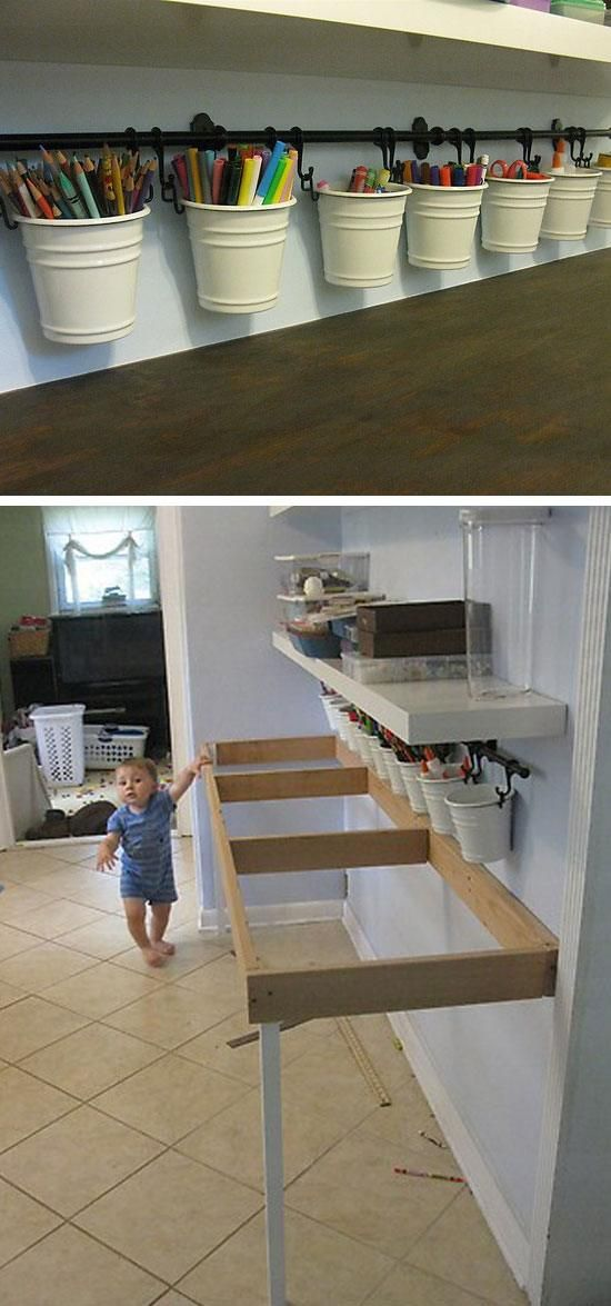 30+ Easy Storage Ideas for Small Spaces | organization | Kids ...