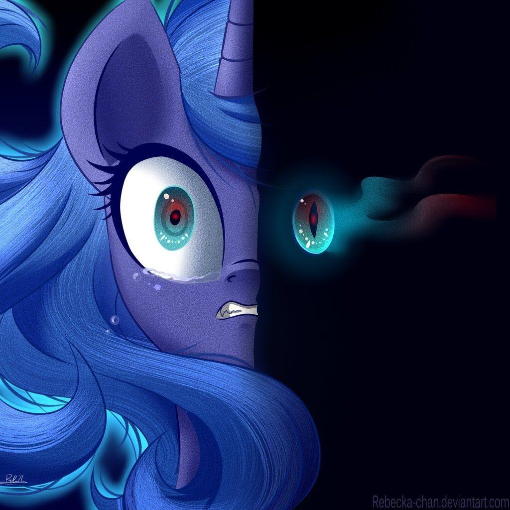 Princess Luna/Nightmare Moon-Monster (DotEXE Remix)