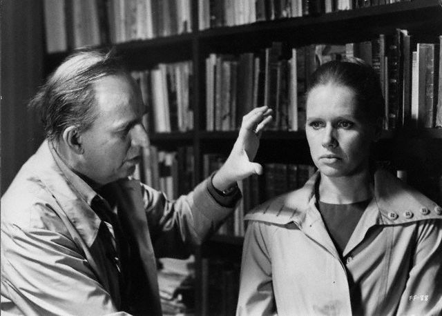 Bergman et Liv Ullman