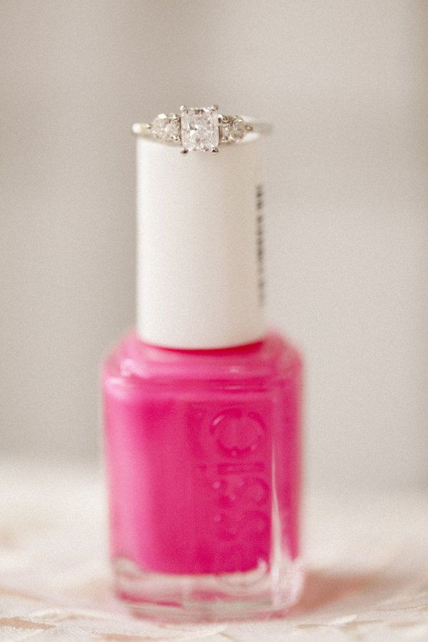 Essie + a Diamond ring  Photography by lovemedophotography.com