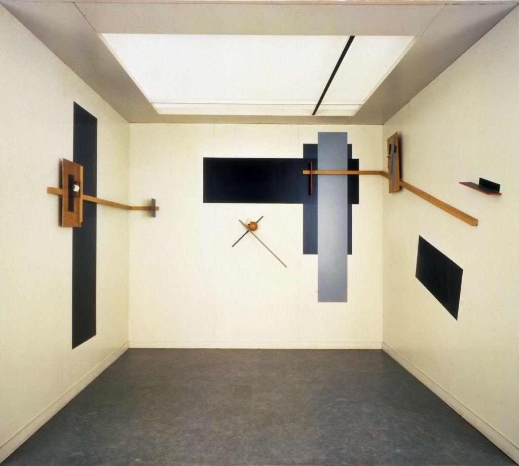 El Lissitzky Proun Room Installation Great Berlin Art Exhibition 1923 Reconstruction Constructivism Russian Constructivism History Design